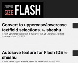Super Size Flash