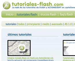 Tutoriales Flash